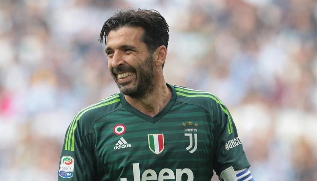 Il portiere della nazionale e della Juventus Gianluigi Buffon.